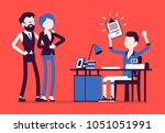 student boy happy with an...   Shutterstock .eps vector #1051051991