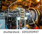 gas turbine equipment and... | Shutterstock . vector #1051053947