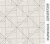 vector seamless pattern. modern ... | Shutterstock .eps vector #1051057259