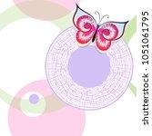 vector seamless stylish... | Shutterstock .eps vector #1051061795