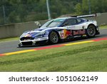 Small photo of 15 September 2006: #33 Aston Martin DBR9 GT1 of Race Alliance Motorsport (A) team driven by Wendlinger / Peter during FIA GT Championship round of Mugello Circuit in Italy.