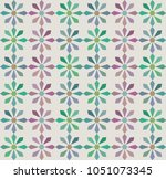 a simple geometric pattern with ... | Shutterstock .eps vector #1051073345