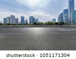 panoramic skyline and buildings ... | Shutterstock . vector #1051171304