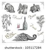 vine illustration | Shutterstock . vector #105117284