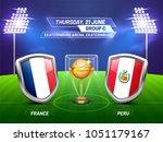 soccer championship league ... | Shutterstock .eps vector #1051179167