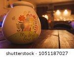 new home savings fund pot sat... | Shutterstock . vector #1051187027