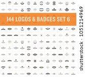 vintage logos design templates... | Shutterstock .eps vector #1051214969