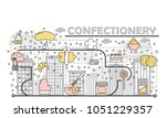 confectionery concept vector...