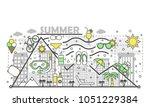 summer vector illustration....