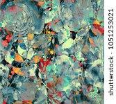 nature's magic  imprints... | Shutterstock . vector #1051253021