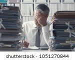 Stressed Exhausted Business...