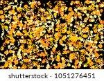 confetti and serpentine  bright ... | Shutterstock .eps vector #1051276451