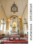 Small photo of MACAO, CHINA, APRL 17, 2016?alter of the St. Dominic's Church in Macao
