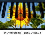 Piano Keys In The Decor Of...