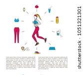 running line design concept...   Shutterstock .eps vector #1051321301