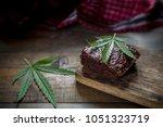 Marijuana Leaf On A Marijuana...