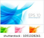 circle abstract background... | Shutterstock .eps vector #1051328261