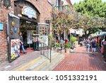 los angeles  usa   april 5 ... | Shutterstock . vector #1051332191