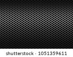 metal grid on wide background | Shutterstock . vector #1051359611