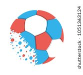 football championship.... | Shutterstock . vector #1051363124