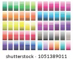 colour set palette vector... | Shutterstock .eps vector #1051389011