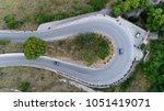 medium altitude aerial photo... | Shutterstock . vector #1051419071