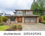 luxury house in vancouver ... | Shutterstock . vector #1051419341