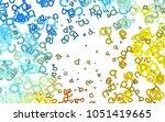light blue  yellow vector...   Shutterstock .eps vector #1051419665