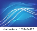 abstract composition of white... | Shutterstock .eps vector #1051426127