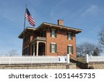 Ulysses S. Grant House in Galena, Illinois - View from Street
