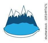 alps peakes icon    Shutterstock .eps vector #1051497671