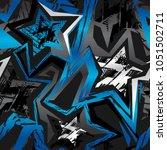 abstract seamless pattern.... | Shutterstock .eps vector #1051502711