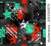 abstract seamless pattern.... | Shutterstock .eps vector #1051503575