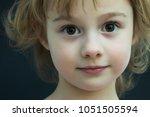 close up portrait of a... | Shutterstock . vector #1051505594