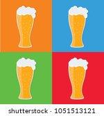 beer icon vector design | Shutterstock .eps vector #1051513121