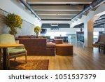 interior of a new luxury...   Shutterstock . vector #1051537379