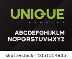 unique vector bold industrial...   Shutterstock .eps vector #1051554635