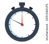 chronometer timer isolated icon | Shutterstock .eps vector #1051560191