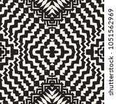 seamless ethnic and tribal... | Shutterstock .eps vector #1051562969