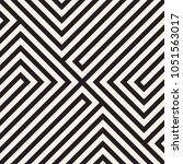 vector seamless lattice pattern.... | Shutterstock .eps vector #1051563017