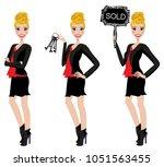 realtor avatar   clip art  ... | Shutterstock .eps vector #1051563455