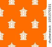 traditional korean pagoda... | Shutterstock . vector #1051570331