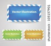 vector banner   Shutterstock .eps vector #105157901
