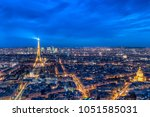 paris  france   march 14  2018  ... | Shutterstock . vector #1051585031