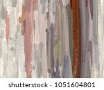 oil painting on canvas handmade.... | Shutterstock . vector #1051604801