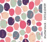 seamless vector pattern with... | Shutterstock .eps vector #1051610459