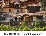 old orthodox monastery in st.... | Shutterstock . vector #1051611197