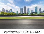 panoramic skyline and buildings ... | Shutterstock . vector #1051636685
