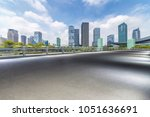 panoramic skyline and buildings ... | Shutterstock . vector #1051636691