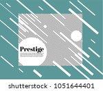prestige white modern business...   Shutterstock .eps vector #1051644401